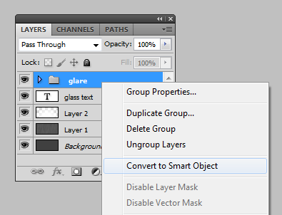 adobe photoshop glassy text tutorial images