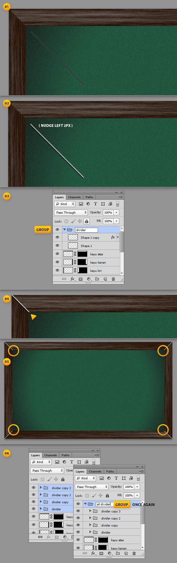 tutorial design Chalkboard - papan hitam (20)