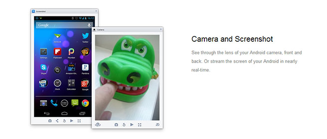 airdroid - camera control
