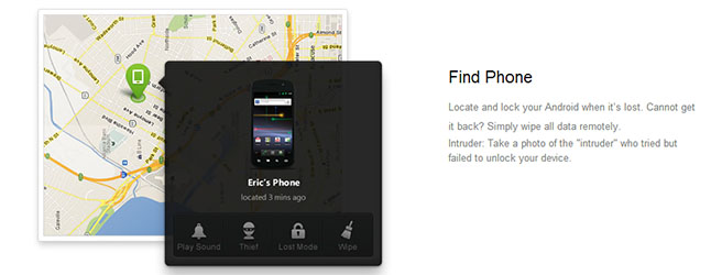 airdroid - find phone