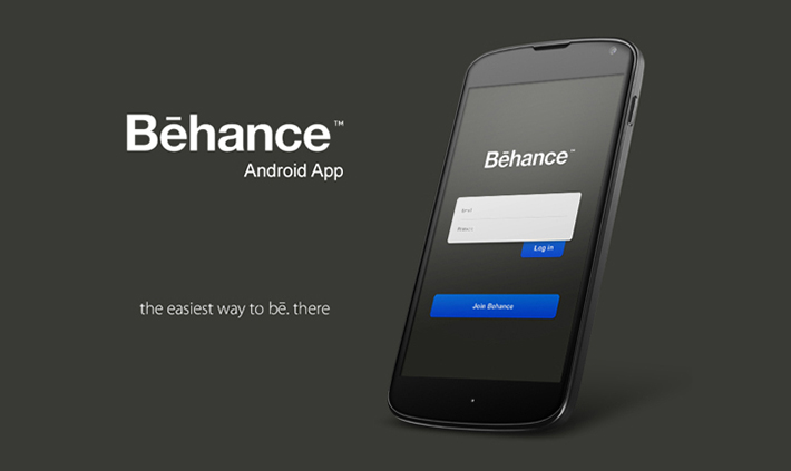 Behance Network android app re-design by Moe Slah