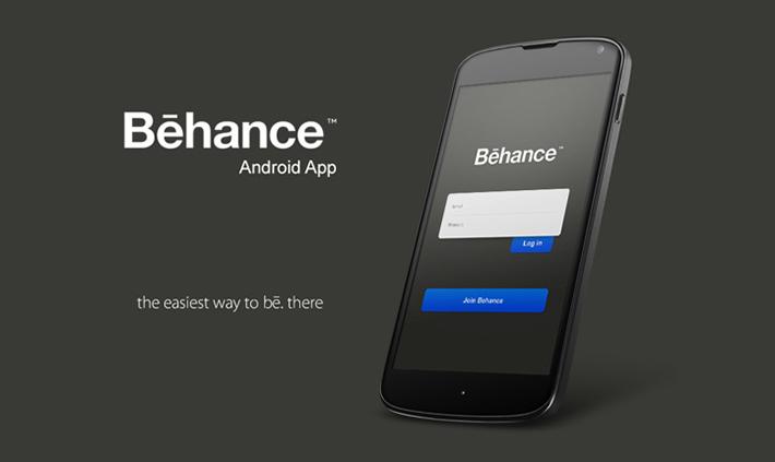 Behance Network android app re-design by Moe Slah
