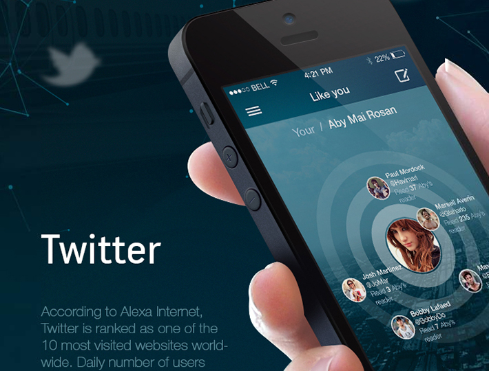 Twitter. Redesign Concept by Maxim Eriomov