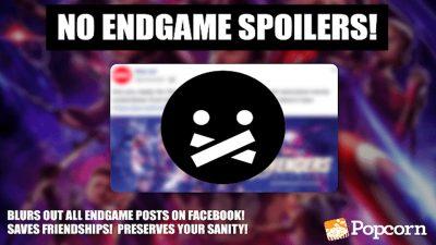 Chrome Extension Untuk Mengelak Terbaca Spoiler Avengers: Endgame di Facebook